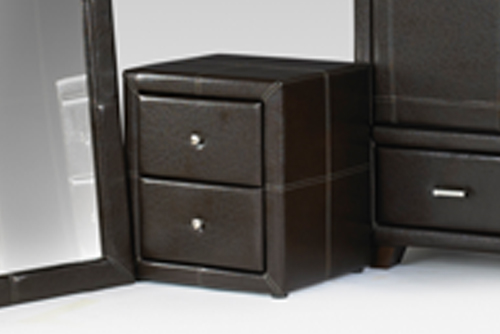 Ashford Bedside / Night Stand Brown