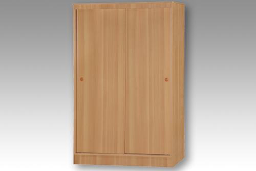 Beech 2 Door Sliding Wardrobe