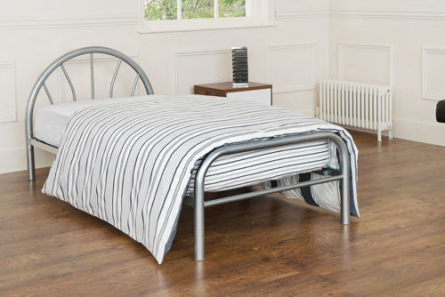 Sunrise Metal Painted Bed Frame