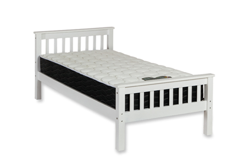 COLORADO 3FT WHITE WOODEN BED