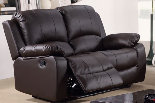 ZURICH LEATHER TWO SEATER SOFA